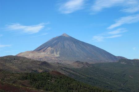 Vistas del Parque Nacional del Teide